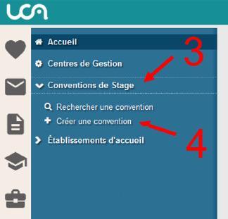 Capsule 1 : lancer la création d'une nouvelle convention